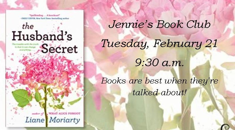 Jennie's Book Club The Husband's Secret