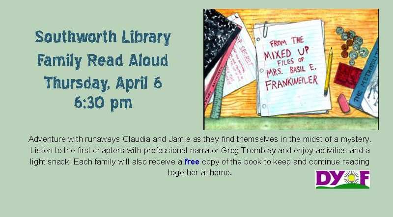 April Family Read Aloud