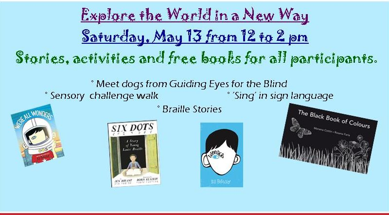 Braille, Guiding Eyes for the Blind, Sensory Challenge Walk