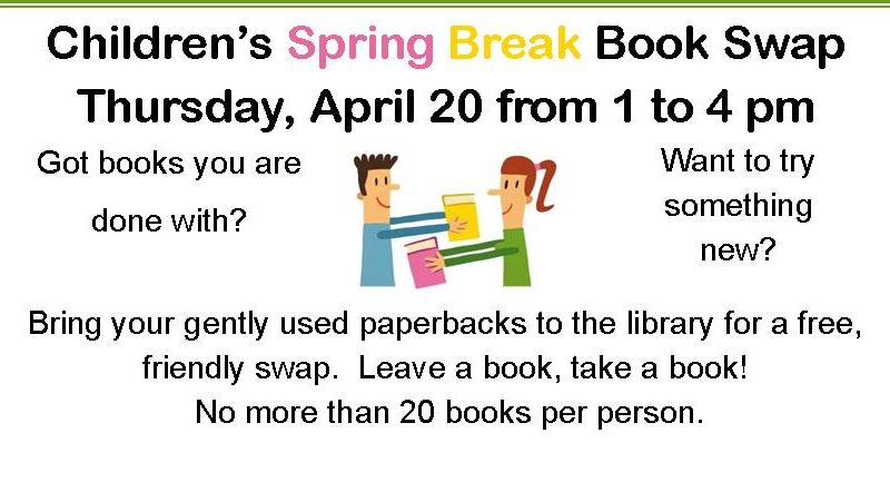 Spring Break Book Swap