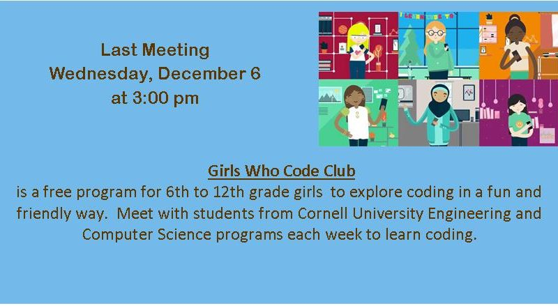 Girls Who Code Last Meeting
