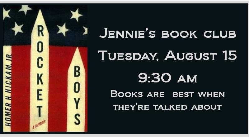 Jennie's Book Club, Rocket Boys