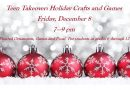 Teen Takeover: Holiday Crafts & Games – Friday, December 8 at 7 pm