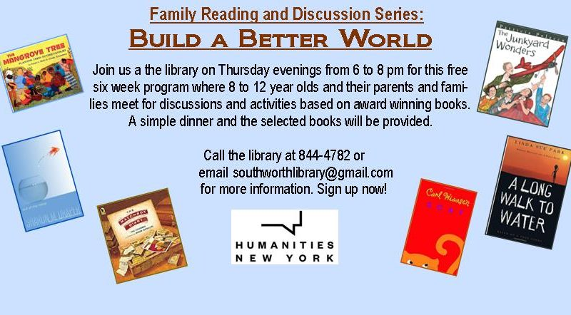 Family Reading and Discussion Groups