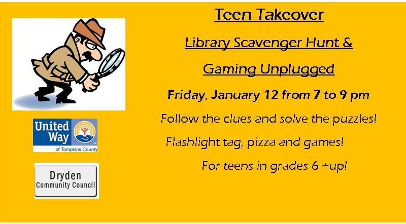 Teen Takeover, Scavenger Hunt