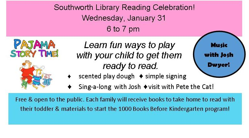 Reading Celebration, Pajama Storytime
