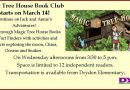 Magic Tree House Book Club – begins Wednesday, March 14