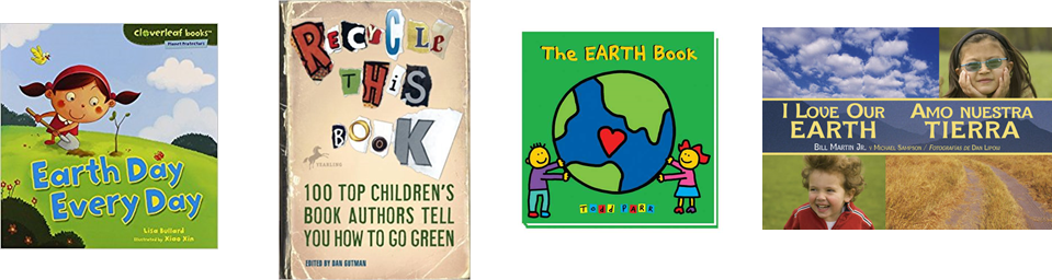 Earth Day from Space take home books