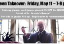 Teen Takeover – Friday, May 11 from 7 to 9 pm