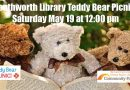 Teddy Bear Picnic – Saturday, May 19 at noon
