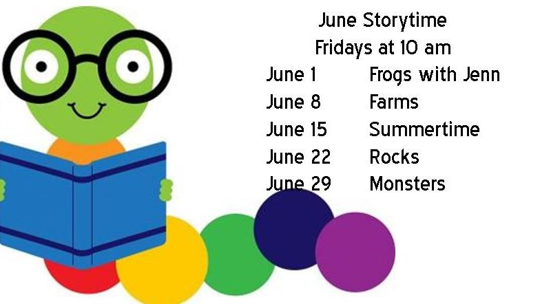 pre school storytime for June