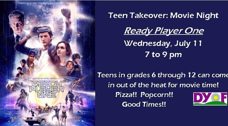 Teen Takeover Ready Player One