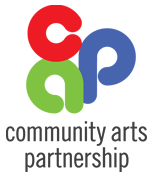 community arts partnership logo