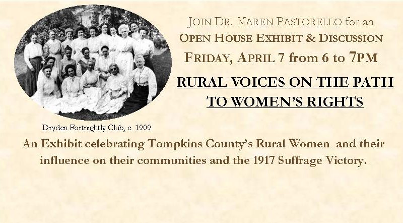 Rural Voices on the Path to Women's Rights, Women's Suffrage