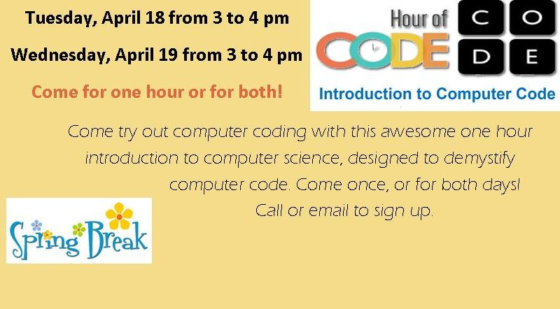 hour of code – Southworth Library Association