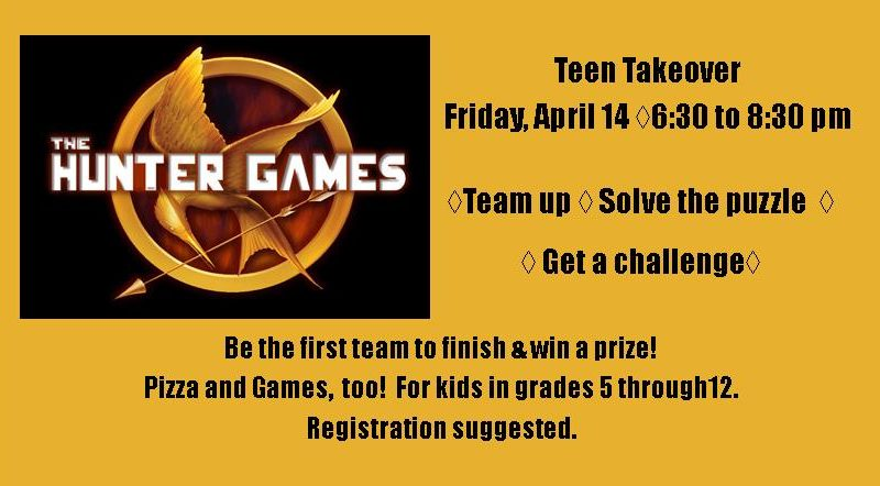 teen takeover, hunter games