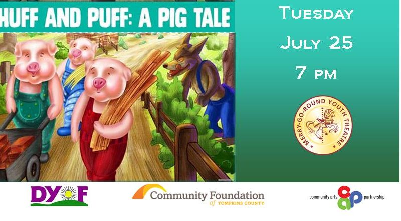 Huff and Puff: A Pig's Tale; Merry Go Round Theater
