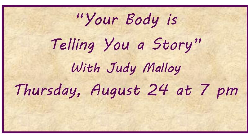 Your Body is Telling You a Story