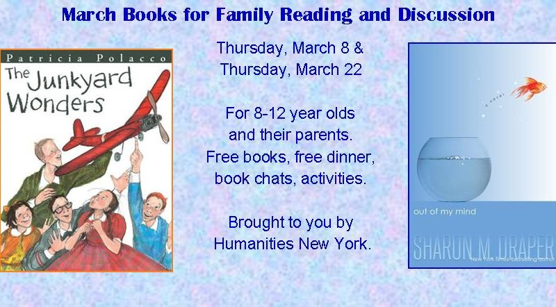 Family Reading and Discussion march