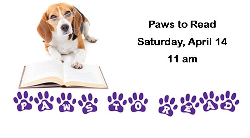 Paws to Read April