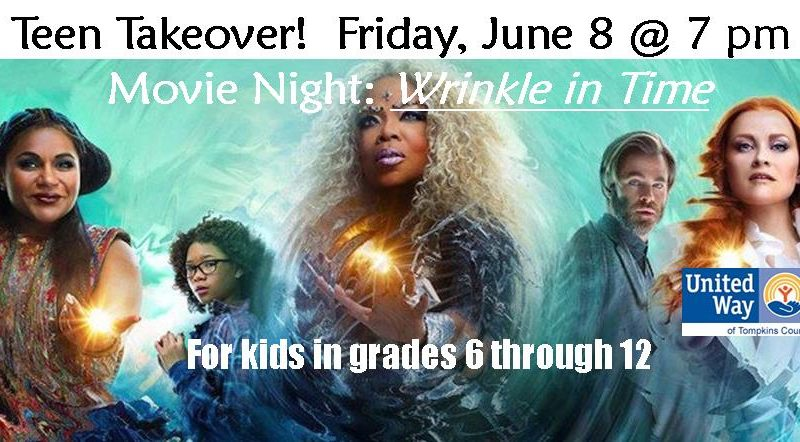 Teen Takeover Movie Night, A Wrinkle in Time