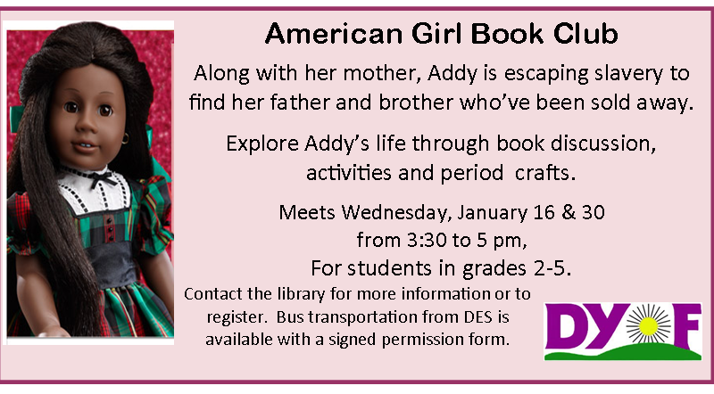 American Girl Book Club