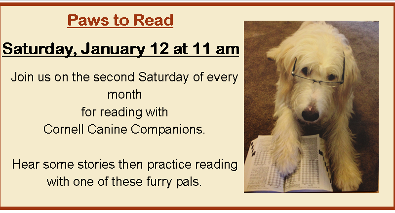 Share stories with Cornell Canine Companions