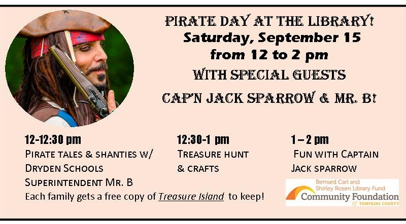 Pirate Day, Captain Jack Sparrow