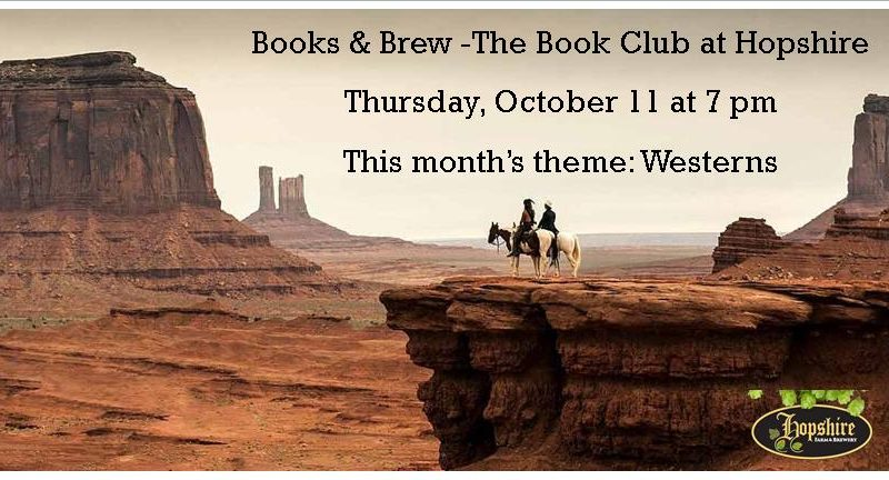 Book & Brew, Hopshire Brewery, Westerns