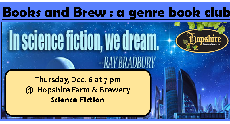 A genre based book club meeting on Thursday, December 6
