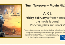 Teen Takeover Movie Night