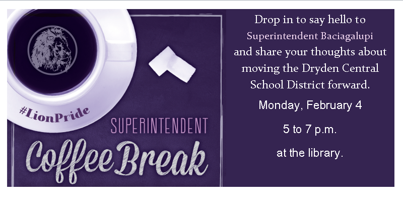 superintendent's coffee break