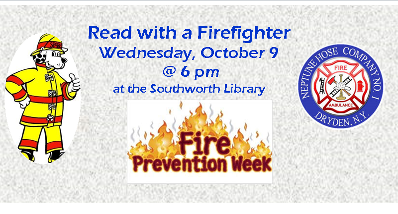 Read with a Firefighter