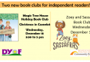Book Clubs for Young Readers – December 11 and 18