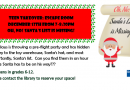 Teen Takeover – December 13th at 7pm