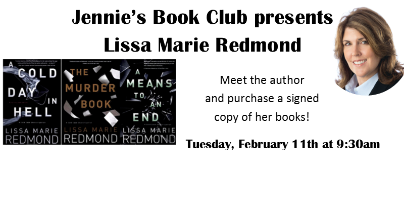 Lissa Marie Redmond on February 11th at 9:30am
