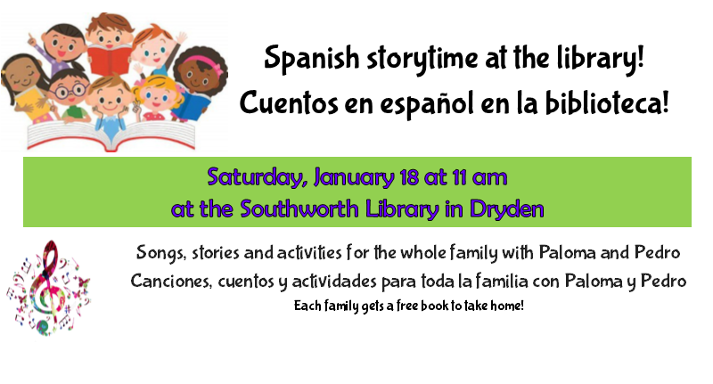 Spanish Storytime – January 18th at 11am