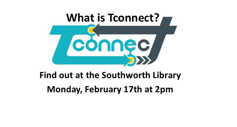TConnect information Session Monday February 17 at 2 pm