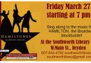 POSTPONED-Hamiltunes! March 27th at 7pm