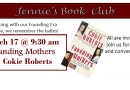 CANCELLED_Jennie's Book Club – Founding Mothers on March 17 at 9:30am