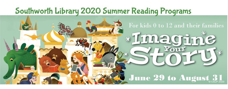 Summer Reading 2020- RE-Imagine your story at the Library