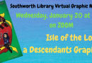 Graphic Novel Book Club- January 20 at 3 pm on Zoom