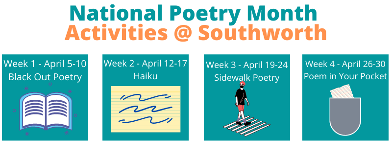 National Poetry Month Activities – April 2021