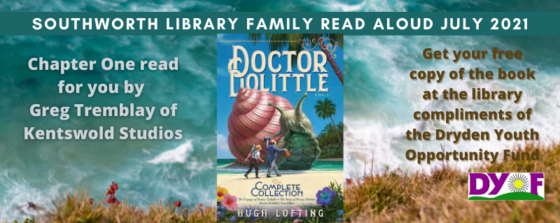 Family Read Aloud July 2021 – The Story of Doctor Dolittle