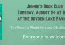Jennie's Book Club- August 24 at 10 am – The Possible World
