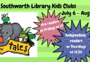 2021 Summer Kids Clubs at the library!