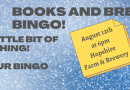 Books & Brew – August 12 at 6 pm – NEW TIME!