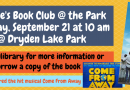 Jennie's Book Club September 21 at 10 am-The Day the World Came to Town